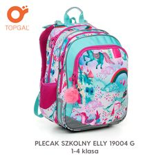 Plecak Topgal z magiczną krainą jednorożców. G 1, Backpacks, Bags, Fashion, Handbags, Moda, Fashion Styles, Totes, Backpack