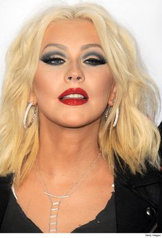 christina aguilera makeup 2016 - Google Search                                                                                                                                                                                 More
