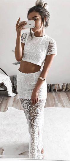 stylish all white everything