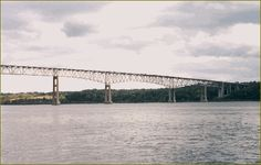 Kingston-Rhinecliff Bridge connects Kingston/Saugerties area to Rhinecliff's Amtrak station.