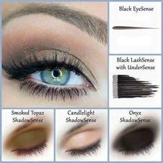 I sell this Eyeshadow. SmokedTopaz, Candlelight, & Onyx ShadowSense combo Beautiful smokey eye look SeneGence Distributor ID Long Lasting Lip Color, Long Lasting Makeup, Winged Eyeliner Tricks, Senegence Makeup, Senegence Products, Eye Makeup, Beauty Makeup, Prom Makeup, Wedding Makeup