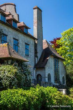 15/05/14.  Varengeville sur Mer.  Les Bois des Moutiers, Lutyens's masterpiece house is stylistically completely unique.