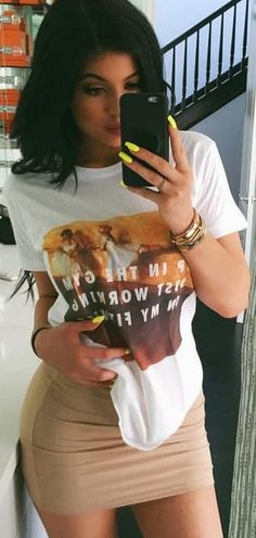 The Affordable Graphic Tees Kylie Jenner Is Obsessed With