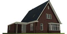 Afbeeldingsresultaat voor laagbouw vrijstaande woning