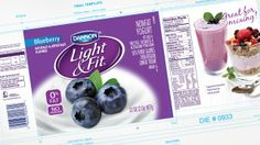 Dannon - Light & Fit on Packaging of the World - Creative Package Design Gallery