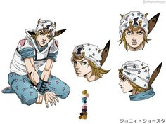 [Fanart] My Fanmade Johnny Joestar Anime Keyart Concept Fanarts Anime, Anime Manga, Anime Characters, Bizarre Art, Jojo Bizarre, Kars Jojo, Jojo Stardust Crusaders, Jojo Stands, Champions League Of Legends