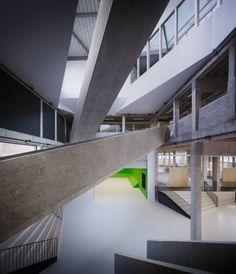 AVDK Architecten Vande Kerckhove, Julien Lanoo · The Level. Howest University College