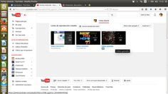 Listas de reproduccion en Youtube