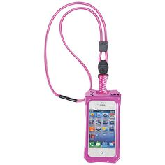 iPhone 4/4S Dri Cat Neck iT Waterproof Case with Lanyard (Pink/White)