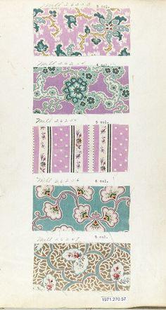 Victorian Prints  Textile Sample Book Date: 1870s Culture: British or American Dimensions: No dimensions recorded. Classification: Textiles-Sample Books Credi...