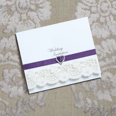 Vintage Lace wedding invites | handmade vintage wedding invites | RSVP Vintage Lace | RSVP