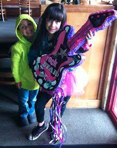 Rock-Star themed birthday party @Fernando Pedraza