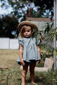 Handmade Sea Mist Linen Savanna Dress | MiyaAndMa on Etsy Child Fashion, Little Kid Fashion, Toddler Girls Fashion, Baby Girl Fashion, Stylish Kids, Kid Styles, Baby Outfits, Kinder Outfits, Fashion Websites