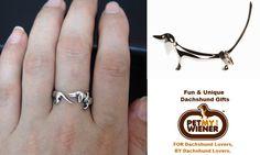 Dachshund ring & ring holder http://www.petmywiener.com/dachshund-wiener-dog-jewelry-13c.aspx