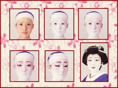 Shiro-Nuri Makeup-Step by step guide to putting on a maiko/geiko face along with a kit with all of the products included.