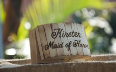 Personalized Rustic Jewelry Box  Brides Maid by BeaconHillCandles, $32.00