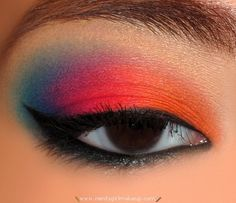 Taste the rainbow? No, don't eat makeup. That's just t-uuurrrible!