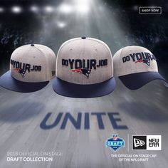7efda0e76c476 Get ready for the draft with the New Era 2018 NFL Draft Cap