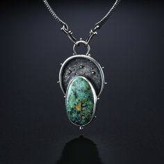 New Lander Variscite Centerpiece. Fabricated Sterling Silver and 14k Gold. www.amybuettner.com https://www.facebook.com/pages/Metalsmiths-Amy-Buettner-Tucker-Glasow/101876779907812?ref=hl https://www.etsy.com/people/amybuettner http://instagram.com/amybuettnertuckerglasow