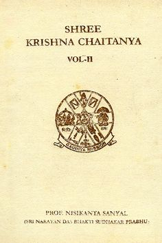 Buy online sri krishna chaitanya vol - II at gaudiya mission online bookstore