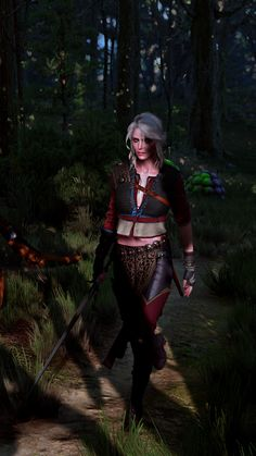 Witcher 3 Art, Ciri Witcher, The Witcher Game, The Witcher Wild Hunt, Elves Fantasy, Fantasy Fairies, Witcher Wallpaper, Monster Concept Art, Female Armor