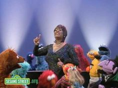 ABCs - Patti Labelle, superstar soul music singer sings the alphabet song.