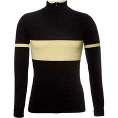 Navy Blue & Ecru Cycling Jersey