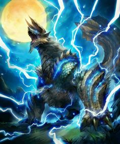 The beast that Maxis got his lightning power's from