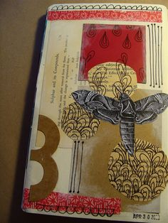 moleskine collage: 4/30 | Flickr - Photo Sharing!