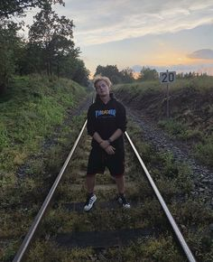 Railroad Tracks, Youtubers, Lily, Moon, Instagram, The Moon, Orchids, Lilies, Train Tracks