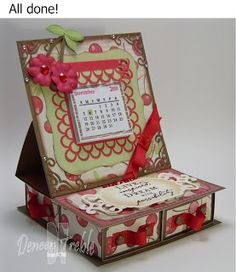 A Path of Paper: 4-Drawer Easel Card for H2H