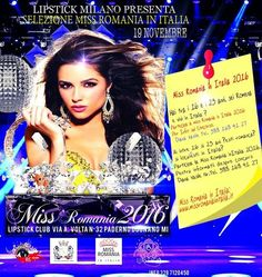 Miss Romania in Italia  Presenta Irina Tirdea Iris Collection  Presidente della giuria Dir Pubb Fabio Brignoli Vogue Italia