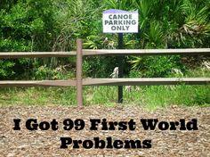 99 first world problems Messy Money