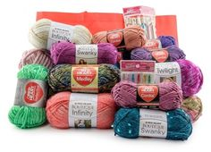 Red Heart Dream Yarn Prize Package | AllFreeCrochet.com