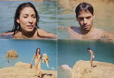 Moisés e Zípora se provocam durante banho no lago; veja fotos do encontro - Fotos - R7 Os Dez Mandamentos