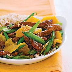 You might never order takeout again! Sesame-Orange Beef recipe