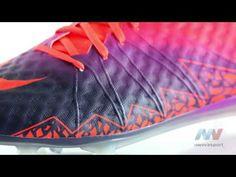 factory price 69904 1e8d7 Nike Hypervenom Phantom II FG Chaussure de football à crampons pour terrain  sec pour Homme 747213 845 couleur Cramoisi total Mauve vif Obsidienne  Référence ...