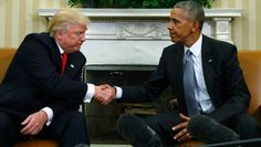 The President & President Elect's  Body Language