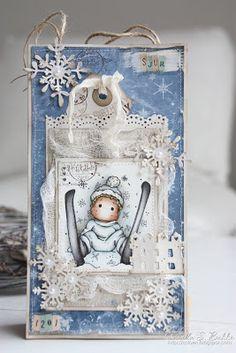 Camilla's Magnolia blog (DT Norway): Ski Edwin with Snowflakes