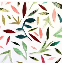 By @julietmeeksdesign #abstractart #colorful #nature #leaves #instalike #instadaily #colors #instacollage #art #design