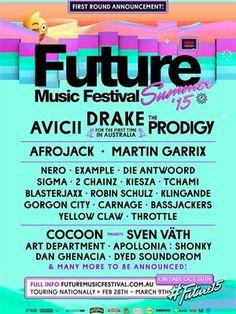 Drake To Headline Future Music Festival In Australia