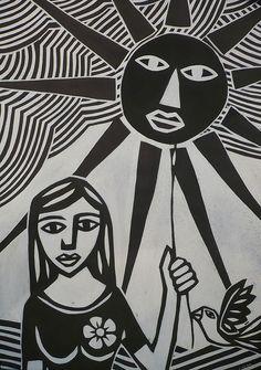 STYLE (SOL, NUVEM, TRAÇO) Graffiti door Derlon Almeida.