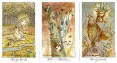 whimsical tarot - Google Search