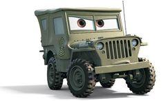 Cars Sarge