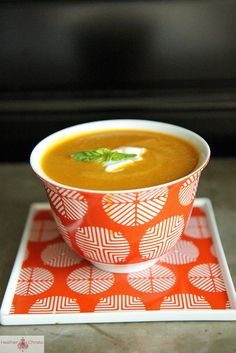 Tomato Zucchini Soup by Heather Christo