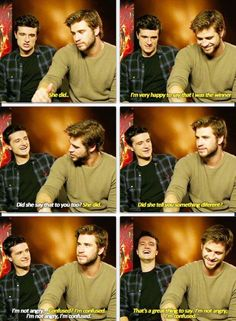 Josh and Liam both were told they were the better kisser by Jen haha