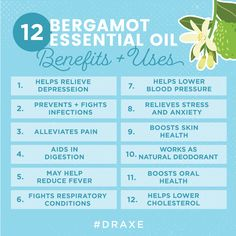 Bergamot oil, classified as an essential oil, has many health benefits and can be added to any number of foods. It's also a valuable deodorant. Bergamot Essential Oil Uses, Essential Oils For Sleep, Doterra Essential Oils, Essential Oil Diffuser, Essential Oil Blends, Young Living Bergamot, Young Living Oils, Calendula Benefits, How To Relieve Stress