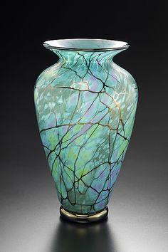 Serenity Vase by David Lindsay: Art Glass Vase available at www.artfulhome.com
