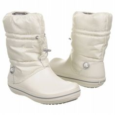 Crocs Crocband Winter Boot Boots (Oyster) - Women's Boots - 6.0 M