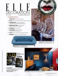 Elle decoration france on pinterest le corbusier elle decor and france - Decoration le corbusier ...